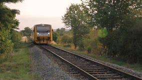 Paso de paisaje del tren almacen de metraje de vídeo