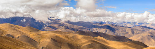 Paso de Pangla en Tíbet Imágenes de archivo libres de regalías