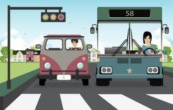 Paso de peatones. libre illustration