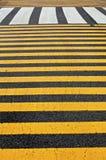 Paso de peatones del peatón del aeropuerto Foto de archivo