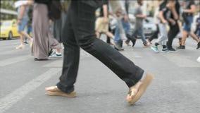 Paso de peatones el d3ia de la calle metrajes