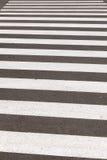 Paso de peatones o paso de peatones Fotografía de archivo libre de regalías