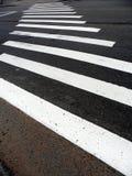 Paso de peatones, paso de peatones Imagen de archivo libre de regalías