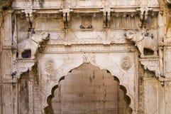 Paso de progresión-bien indio antiguo Foto de archivo