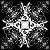 Paso de progresión del azulejo de la flor stock de ilustración