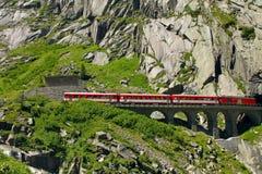 Paso de San Gotthard Imagen de archivo libre de regalías