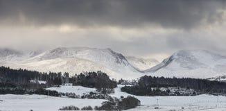 Paso del ghru de Cairngorms y de Lairig Fotos de archivo libres de regalías