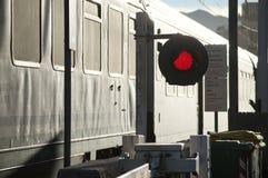 Paso del tren fotografía de archivo