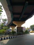 Paso elevado de Kolkata Fotos de archivo