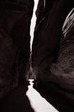Paso en el Petra Imagen de archivo
