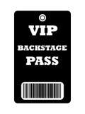 Paso entre bastidores del VIP Imágenes de archivo libres de regalías