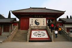paso estratégico de la Qin-dinastía en Henan fotografía de archivo libre de regalías