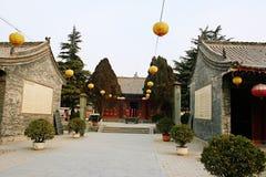 paso estratégico de la Qin-dinastía en Henan imagenes de archivo