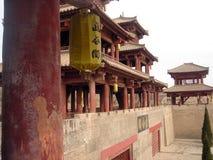 paso estratégico de la Qin-dinastía en Henan imágenes de archivo libres de regalías