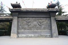 paso estratégico de la Qin-dinastía en Henan foto de archivo