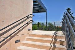 Paso exterior de las escaleras Fotos de archivo