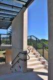 Paso exterior de las escaleras Foto de archivo