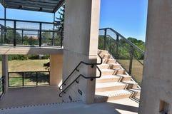 Paso exterior de las escaleras Fotografía de archivo