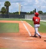 Paso grande del béisbol Fotos de archivo libres de regalías