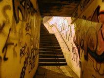 Paso inferior del subterráneo fotos de archivo