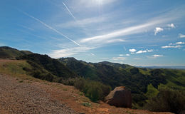 Paso Robles Wine Country Scenery in Central California Royalty Free Stock Photos