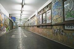 Paso subterráneo suburbano Fotografía de archivo libre de regalías