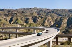 Paso superior de la autopista sin peaje Imágenes de archivo libres de regalías