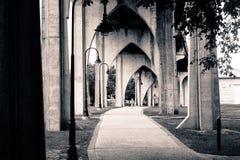 Paso superior del puente de la arcada Fotos de archivo