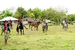 Pasola Festival, Kodi, Sumba Island, Nusa Tenggara Stock Image