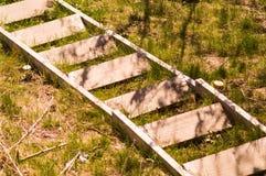 Pasos abandonados Imagen de archivo