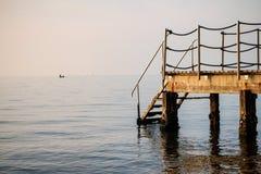 Pasos al mar Imagen de archivo libre de regalías
