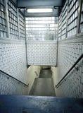 Abajo al subterráneo Imagen de archivo