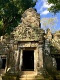 Pasos al templo fotos de archivo