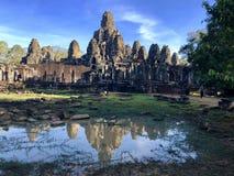 Pasos al templo fotos de archivo libres de regalías