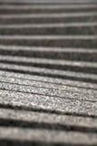 Pasos ascendentes grises borrosos Imagen de archivo