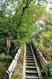 Pasos de Japón Foto de archivo