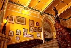 Pasos de la entrada del estilo del vintage del palacio de Bangalore fotografía de archivo libre de regalías