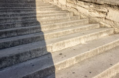 Pasos de la escalera Foto de archivo libre de regalías