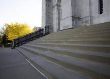 Pasos de la iglesia Imagen de archivo libre de regalías