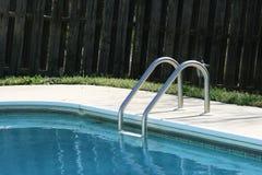 Pasos de progresión de la piscina Imagen de archivo libre de regalías
