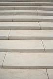 Pasos de progresión de mármol blancos Imagen de archivo libre de regalías