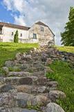 Pasos de progresión de piedra. Imagenes de archivo