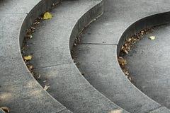 Pasos de progresión de piedra Foto de archivo libre de regalías