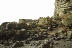 Pasos de progresión de piedra Imagen de archivo