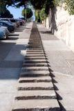 Pasos de progresión de San Francisco Foto de archivo libre de regalías