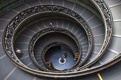 Pasos de progresión de Vatican Imágenes de archivo libres de regalías