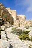 Pasos de progresión del castillo Foto de archivo libre de regalías