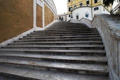 Pasos de progresión del español de Italia Roma Imagen de archivo libre de regalías
