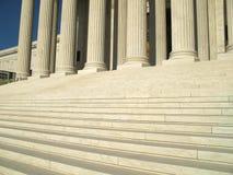 Pasos de progresión del Tribunal Supremo imagen de archivo libre de regalías