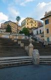 Pasos de progresión españoles, Roma Imagenes de archivo